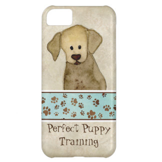 Puppy Love Brown Paws Doggy Business Advertising iPhone 5C Case