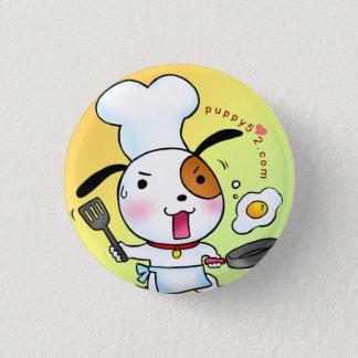 Puppy Love Cooking 3 Cm Round Badge