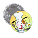 Puppy Love Cooking Pinback Buttons