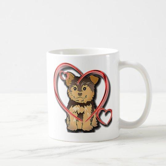 Puppy love Design on Mug