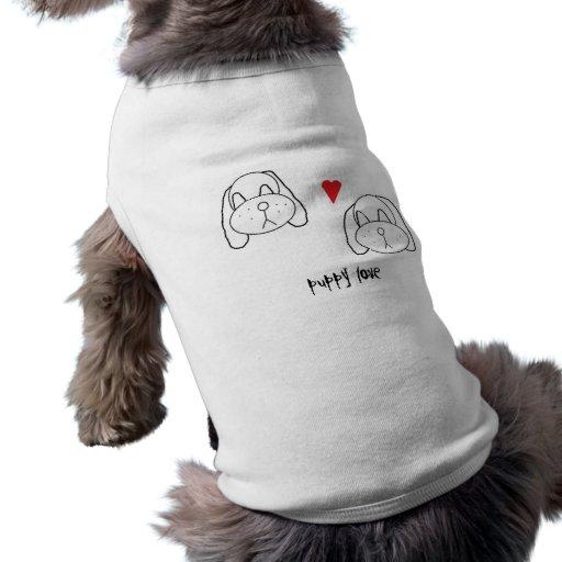 puppy love dog tshirt
