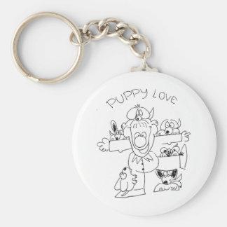 Puppy Love Key Chains