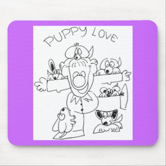 Puppy Love Mouse Pads