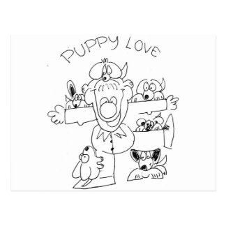 Puppy Love Post Cards