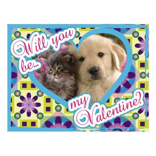 Puppy Love Postcard