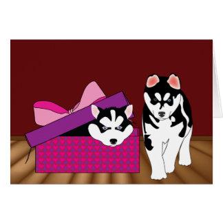 Puppy Love Valentine's Day Card