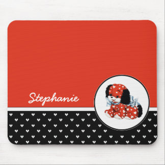 Puppy Love. Valentine's Day Gift Mousepads