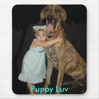 Puppy Luv Mouse Pad