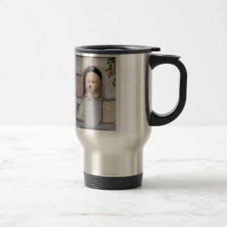Puppy Mail Stainless Steel Travel Mug