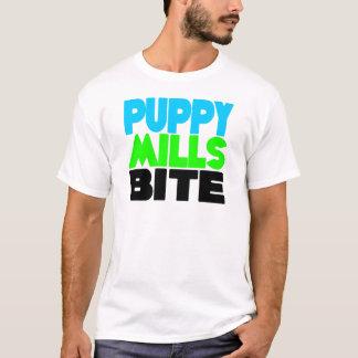 Puppy Mills Bite! Stop Puppy Mills! T-Shirt
