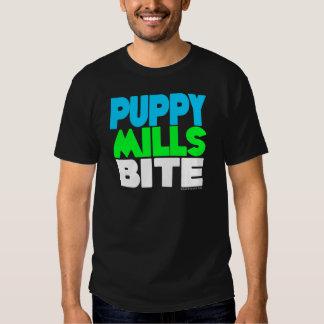 Puppy Mills Bite! Stop Puppy Mills! Tshirts