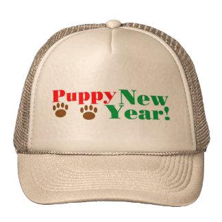 Puppy New Year! Cap