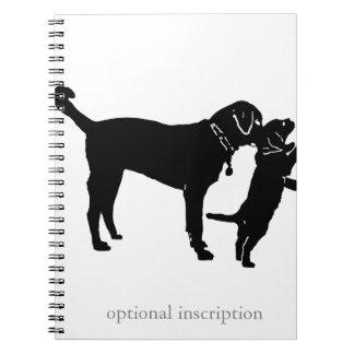 Puppy Note! Optional Custom Inscriptio Notebooks