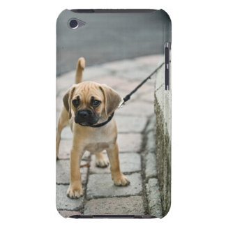 Puppy on leash barely there iPod case