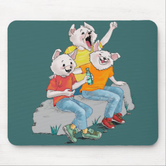 Puppy Pack Mouse Pad