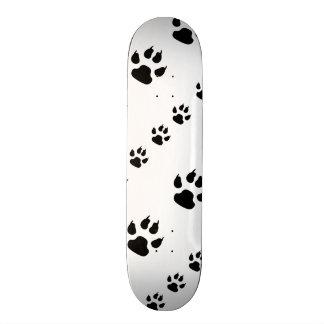 Puppy Paw Prints Skate Board