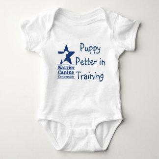 Puppy Petter in Training onsie Baby Bodysuit