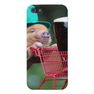 Puppy pig shopping cart case for the iPhone 5