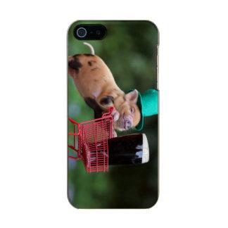 Puppy pig shopping cart incipio feather® shine iPhone 5 case
