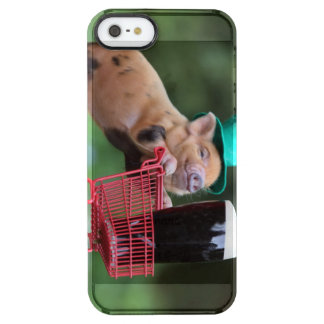 Puppy pig shopping cart iPhone 6 plus case