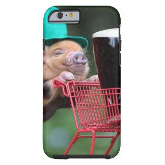 Puppy pig shopping cart tough iPhone 6 case