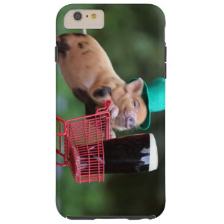 Puppy pig shopping cart tough iPhone 6 plus case