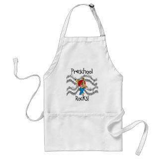 Puppy Preschool Rocks Tshirts and Gifts Aprons