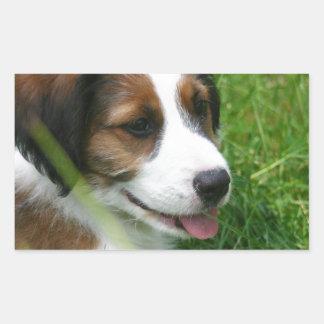 Puppy Rectangular Sticker