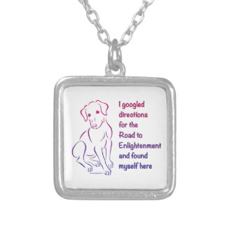 Puppy Road to Enlightenment Necklace