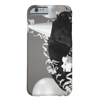 Puppy sleeping in party decorations barely there iPhone 6 case