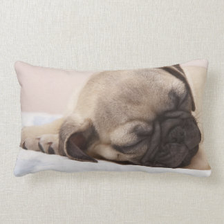 Puppy Soundly Sleeping Lumbar Cushion