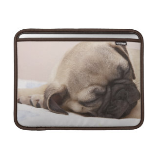 Puppy Soundly Sleeping MacBook Air Sleeves