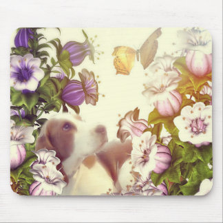 Puppy spring mousepad