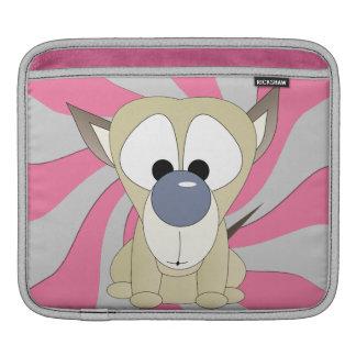 Puppy Surprise iPad Rickshaw Sleeve iPad Sleeve