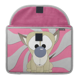 Puppy Surprise Rickshaw Macbook Pro 13 inch Sleeve Sleeves For MacBooks