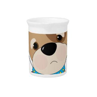 Puppy Toothache Beverage Pitcher