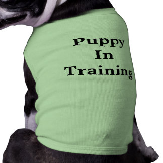 Puppy Training T-shirt Sleeveless Dog Shirt