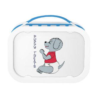 Puppy Treats Babyfur Lunchbox Blue