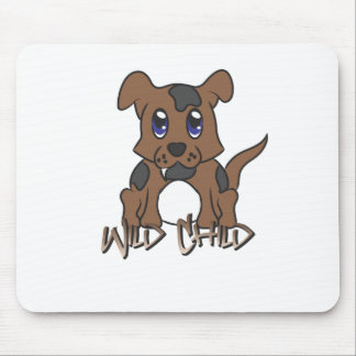 Puppy WC brown Mouse Pad