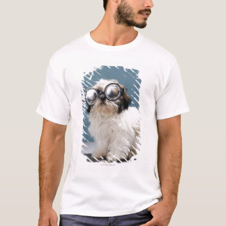 Puppy wearing thick glasses T-Shirt