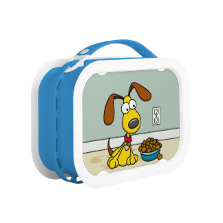 Puppy with Food Lunchbox