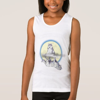 """Puppy/Wolf """"How You See Me"""" Girls Tank Top"""