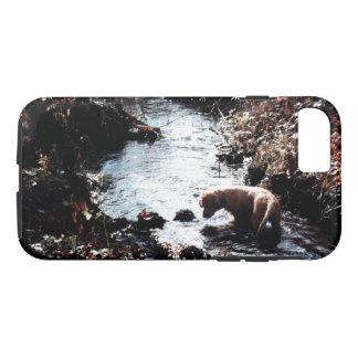 Puppy's Autumn Swim Phone Case
