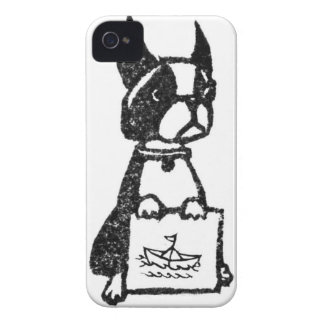 Puppy's Boat iPhone 4 Case-Mate Cases