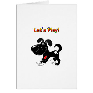 Pup's Invitation to Play! Cards