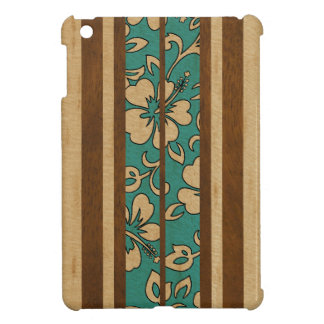 Pupukea Vintage Hawaiian Surfboard iPad Mini Cases