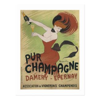 Pur Champagne, Damery-Epernay Postcard
