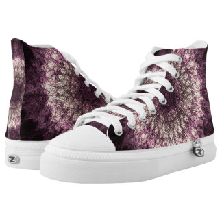 PUR-polarize Mandala High Tops