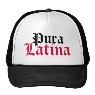 Pura, Latina Trucker Hat