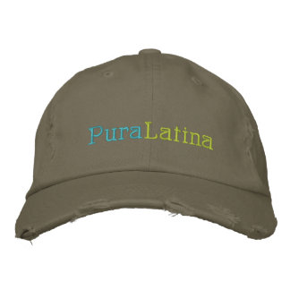 Pura, Latina Embroidered Hats